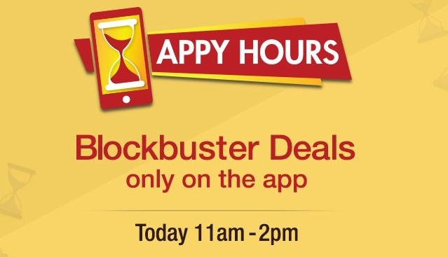 amazon appy hour sale today