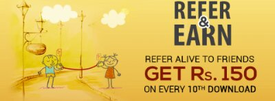 alive app refer and earn
