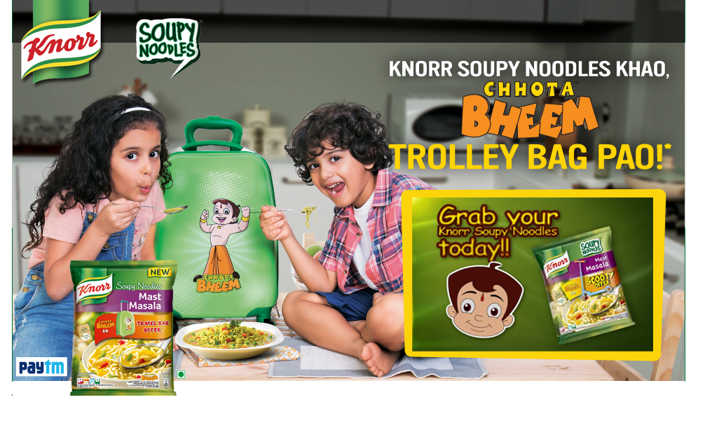 Paytm knorr soupy noodles offer