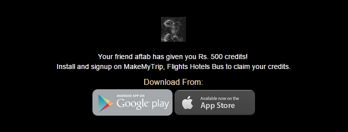 makemytrip refer and earn