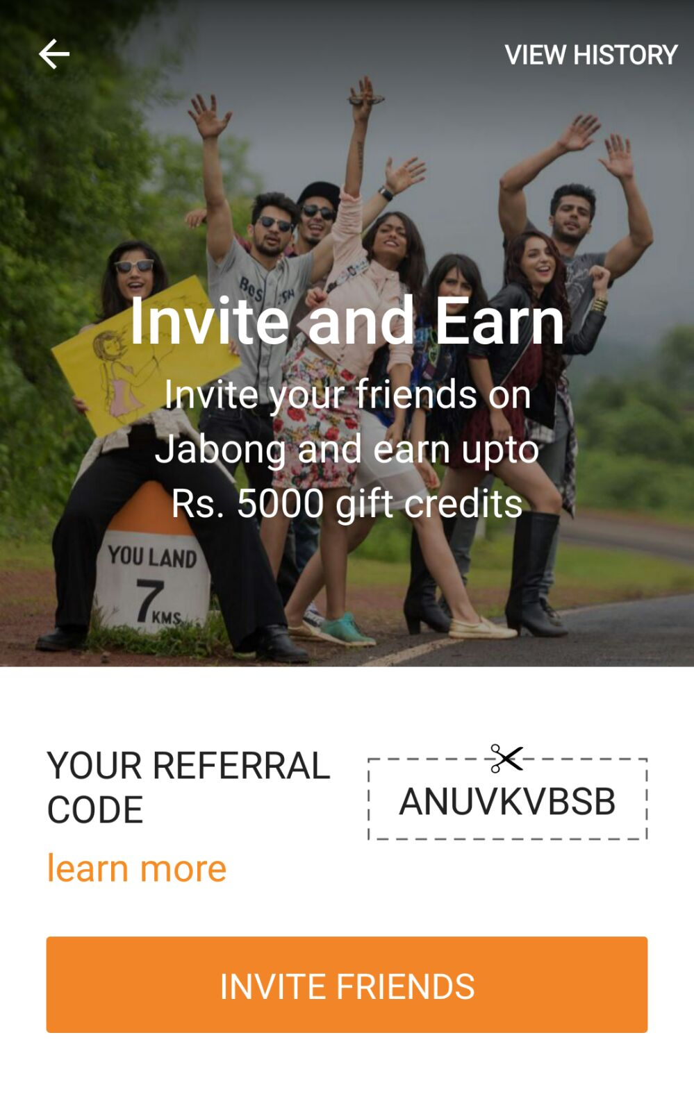 Jabong Refer