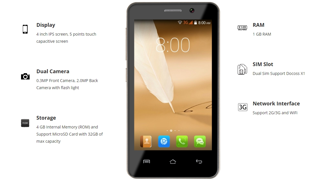 Docoss X1 Smartphone Booking, features,