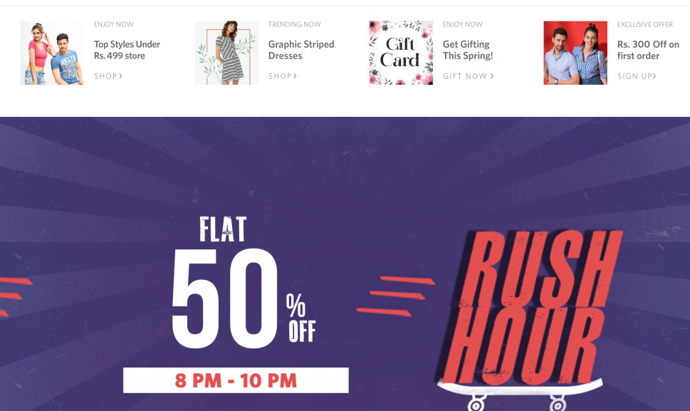 Myntra discount coupons code